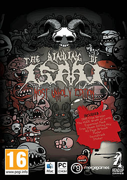 Binding of Isaac Unholy Edition and Wrath of Lamb: Volume 2PCCover Art