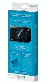 Wii U GamePad Accessory Set Accessories