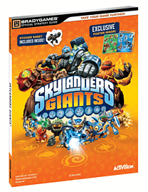 Skylanders Giants Exclusive Strategy Guide and PosterStrategy Guides & Books