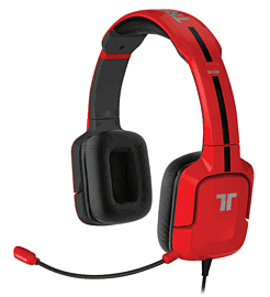 Tritton Kunai Stereo Headset for Wii U and 3DS - RedAccessories