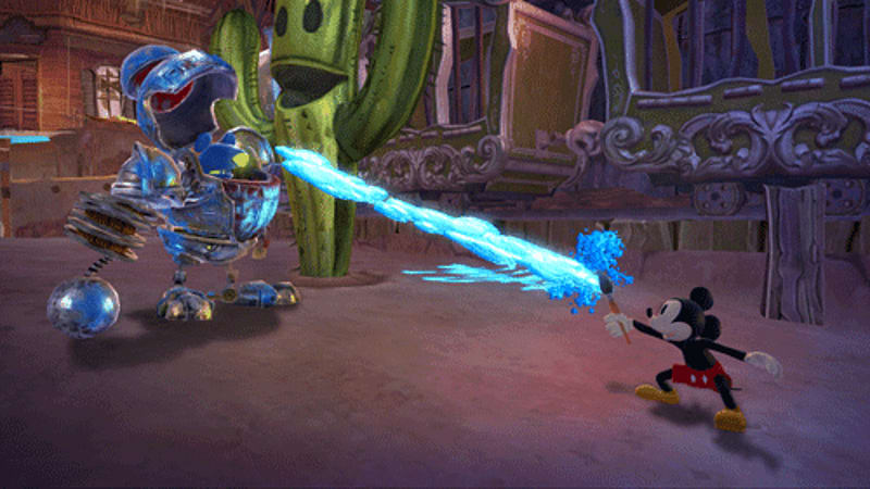 epic mickey 2 graphic novel online