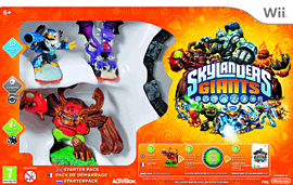 Skylanders Giants Starter PackWiiCover Art