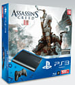PlayStation 3 500GB Slim with Assassin's Creed III PlayStation 3