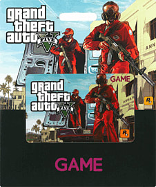 GAME Stores £30 GTA V Gift CardGifts