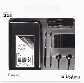 3DS Essential Pack 3 BlackAccessories
