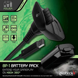 Gioteck BP1 Play & Charge PackAccessories