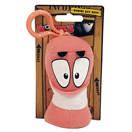 Worms Keyring Classic PlushToys and Gadgets