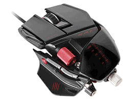 Mad Catz R.A.T.7 Mouse - Gloss BlackAccessories