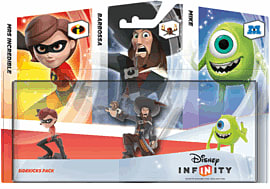 Disney INFINITY Sidekicks Triple Character PackToys and Gadgets
