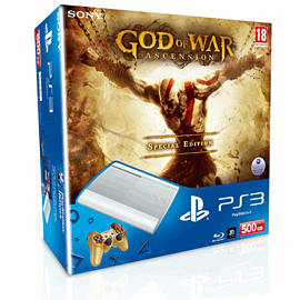 PlayStation 3 500GB with God of War: Ascension PlayStation 3