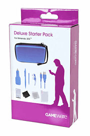 Gameware 3DS Deluxe Starter Pack - Blue Accessories