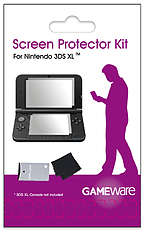 GAMEware 3DS XL Screen Protector Kit Nintendo DS & 3DS