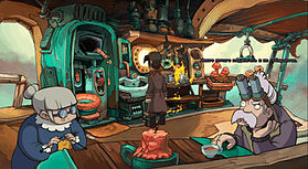 Chaos of Deponia screen shot 3