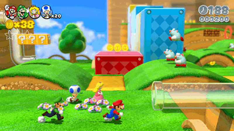 Super Mario 3D World Review for Wii U at GAME