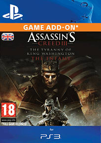 Assassin's Creed III: The Infamy for PS3