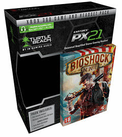 Turtle Beach Ear Force PX21 Headset with BioShock InfiniteXbox 360Cover Art