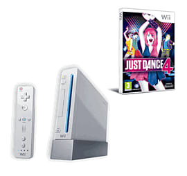 Nintendo Wii: White Console Family Edition With Wii Party, Wii Sports And Just Dance 4 Wii