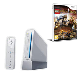Nintendo Wii: White Console Family Edition With Wii Play, Wii Sport And LEGO Lord Of The Rings Wii