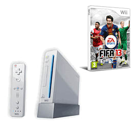 Nintendo Wii: White Console Family Edition With Wii Play, Wii Sport And Fifa 13 Wii