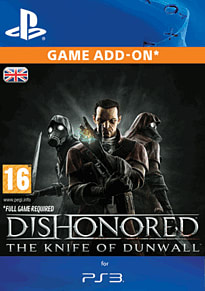 Dishonored: The Knife of Dunwall for PS3