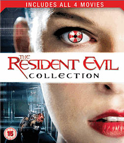 The Resident Evil CollectionBlu-ray