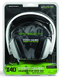 Plantronics GameCom X40 Headset - Xbox 360, EMEAAccessories