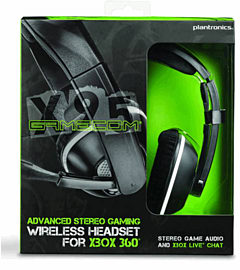 Plantronics GameCom X95 Wireless Headset - Xbox 360Accessories