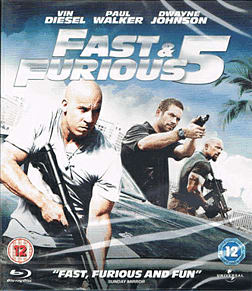 Fast and Furious 5Blu-ray