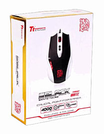 Tt eSPORTS BLACK Gaming Mouse - Combat WhiteAccessories