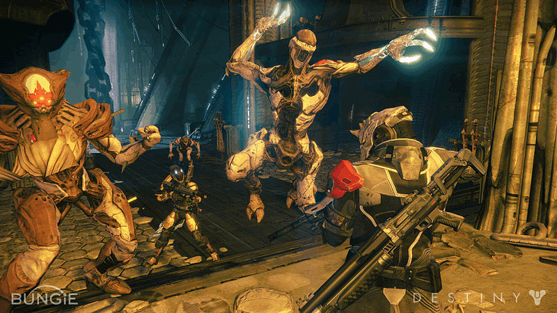 GAME's first hands-on experience of Destiny, on Xbox One, PlayStation 4, Xbox 360 and PlayStation 3.