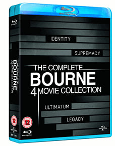 The Complete Bourne 4 Movie CollectionBlu-ray