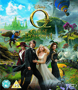 Oz the Great and PowerfulBlu-ray