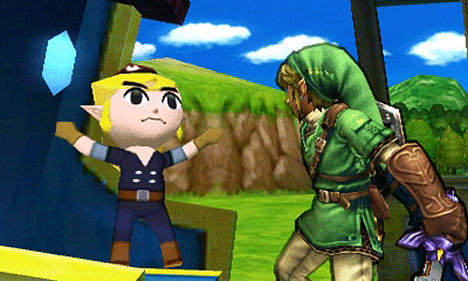 Super Smash Bros. for 3DS screenshots