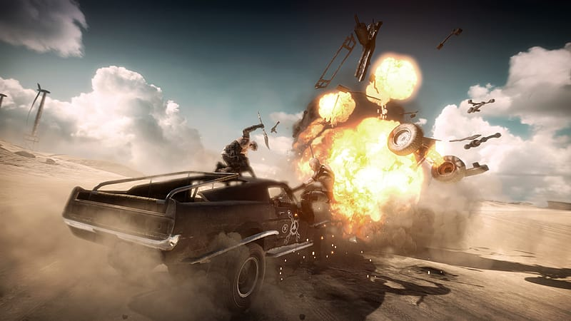 Mad max Preview for PlayStation 4, Xbox One, PlayStation 3, Xbox 360 and PC at GAME