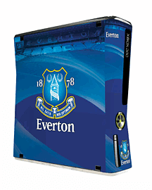Everton FC Skin for Xbox 360 ConsoleAccessories