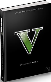 Grand Theft Auto V Limited Edition Hardback Strategy GuideStrategy Guides & Books