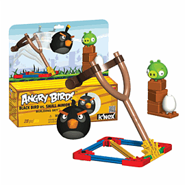 K'NEX: Angry Birds Black Bird Vs Small Minion PigToys and Gadgets