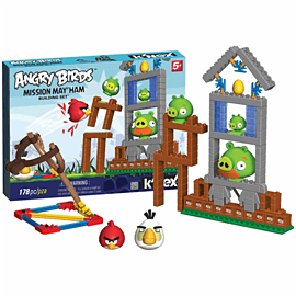 K'NEX: Angry Birds 'Mission May'ham' Building SetToys and Gadgets