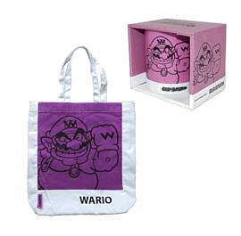 Super Mario Shopper Bag and Mug - WarioClothing and Merchandise