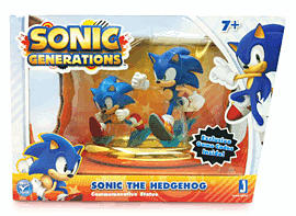 Sonic Generations Commemorative Statue SetToys and Gadgets