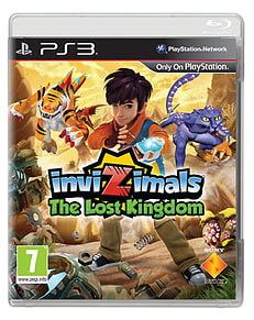 PS3 INVIZIMALS LOST KINGDOMPlayStation 3Cover Art