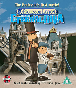 Professor Layton and the Eternal DivaBlu-ray