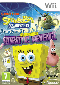 Spongebob Squarepants Planktons Robotic Revenge for Wii