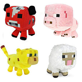 "Minecraft 7"" Plush Assortment (1 Supplied)Toys and Gadgets"