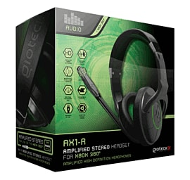 Gioteck AX1-R Amplified Stereo Headset Accessories
