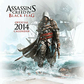 Assassin's Creed IV Black Flag Calendar 2014Gifts
