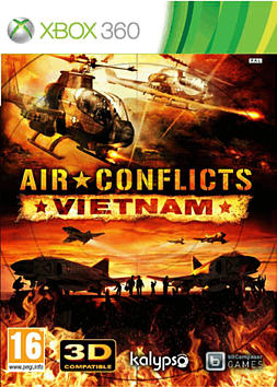 Air Conflicts: VietnamXbox 360Cover Art