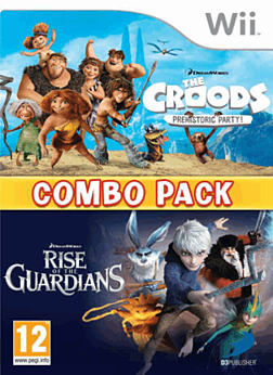 Rise of the Guardians and The Croods Double Pack for Wii