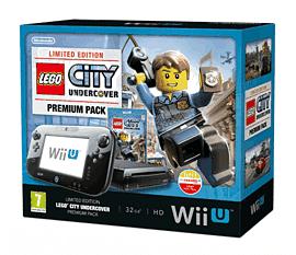 Black Wii U Premium with LEGO City: Undercover Wii U