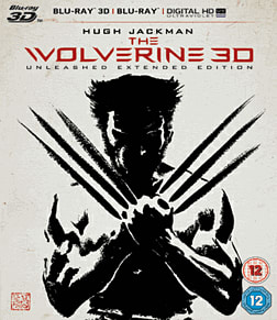 The Wolverine 3D3D Blu-ray